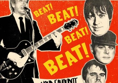 Beatophonics Smash Hit Flyer '63 style poster