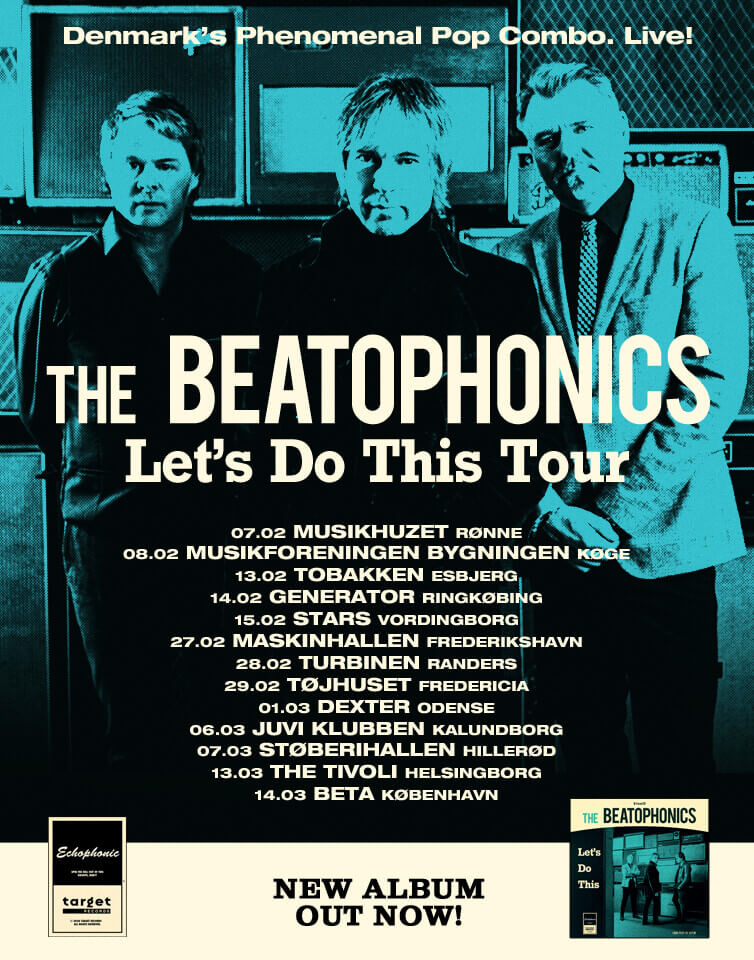 "The Beatophonics returns in 2020 with a new album, on which the band explores new paths. The album title ""Let's Do This"" refers to the process and the active choices the band has been through while writing the new music."